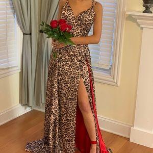 Cheeta dress